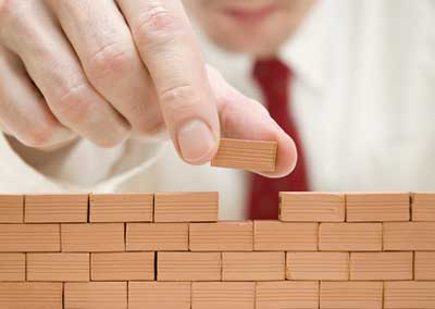 de tijolo em tijolo você irá chegar lá