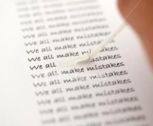 mistakes - erros