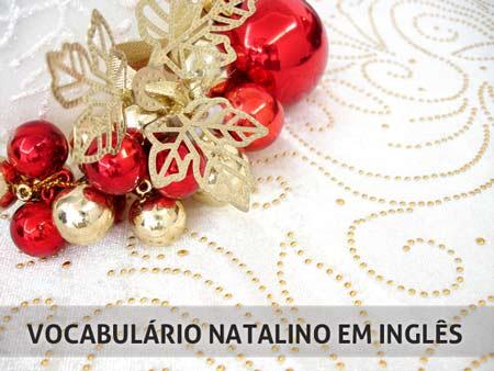 Vocabulário Natalino em Inglês