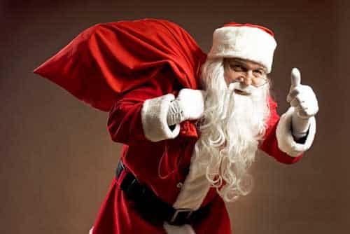 Papai Noel em vários idiomas