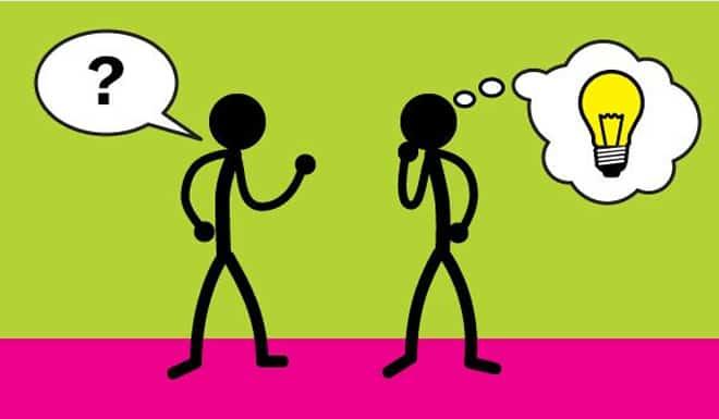 Como fazer e responder perguntas em comunidades de estudantes de inglês?