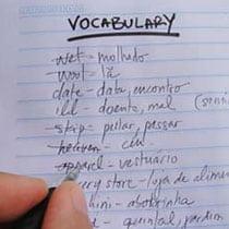 Caderno de Vocabulário