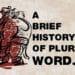 História do Plural em Inglês