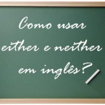 either e neither, como usar?