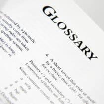 Glossário - Glossary