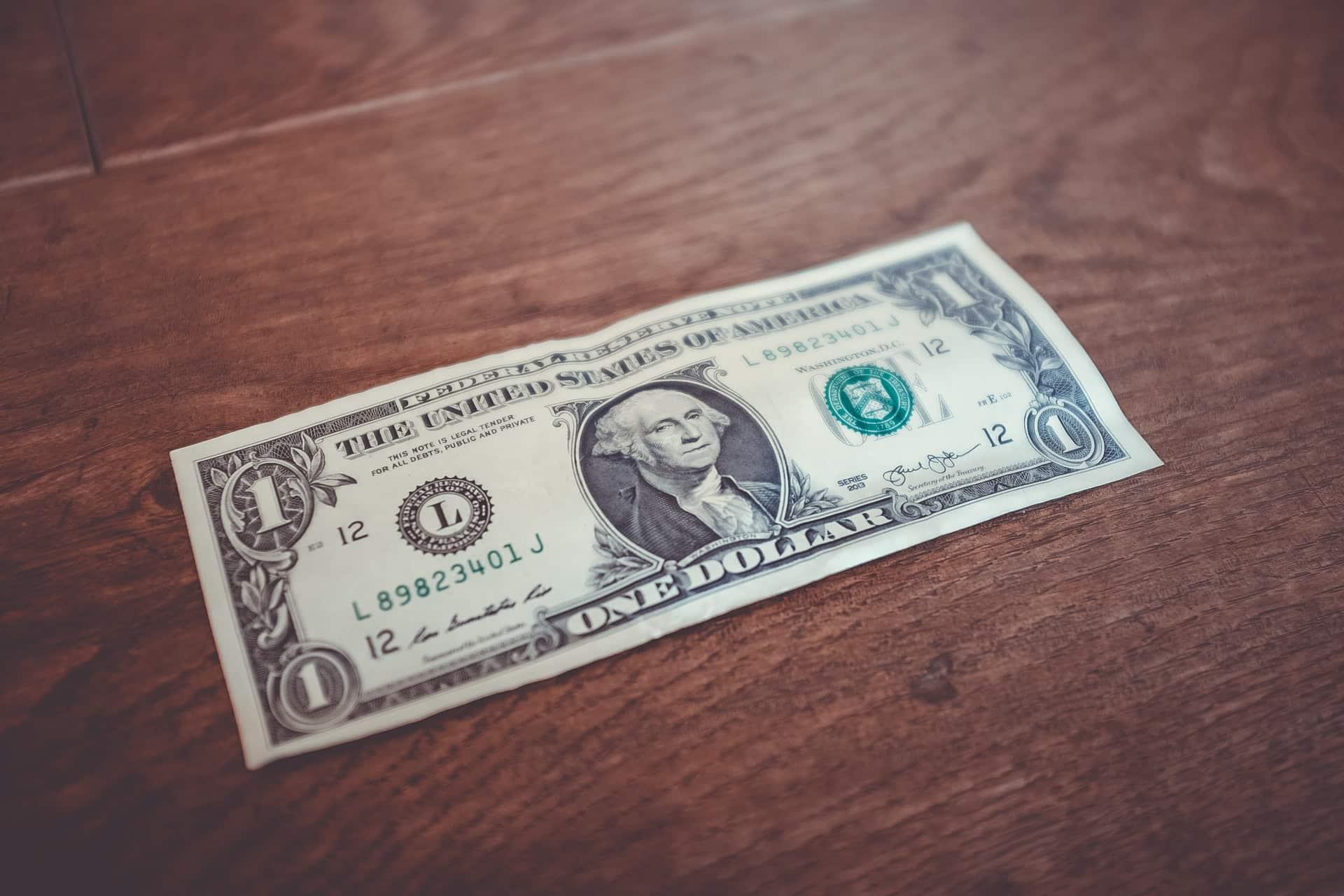 cedula de 1 dolar