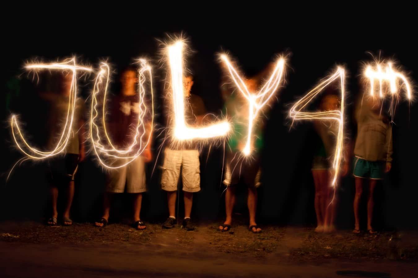 EUA - 12 Fatos e Curiosidades sobre o dia 4 de Julho