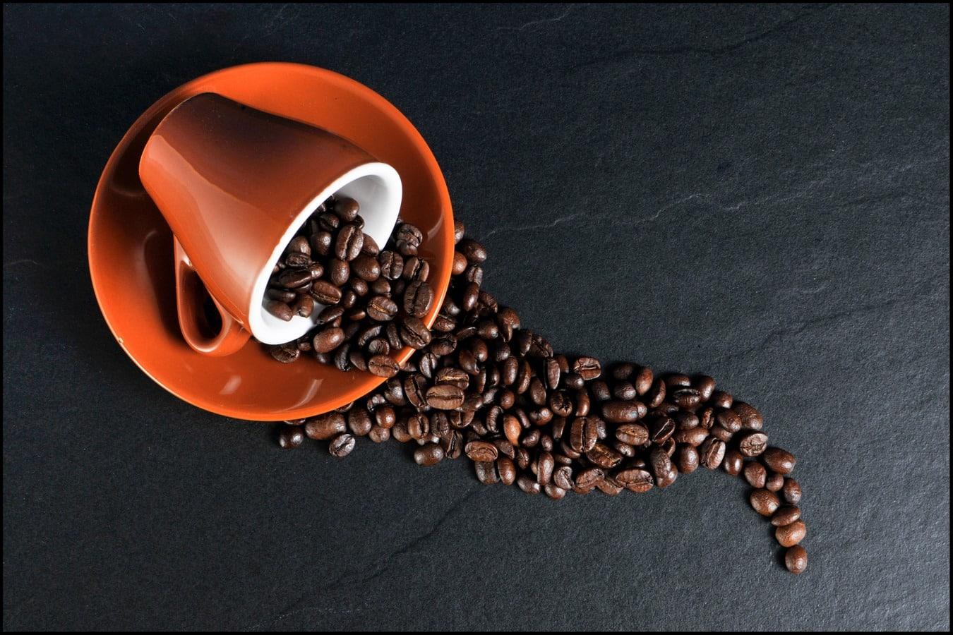 O certo é cup of coffee ou coffee cup?