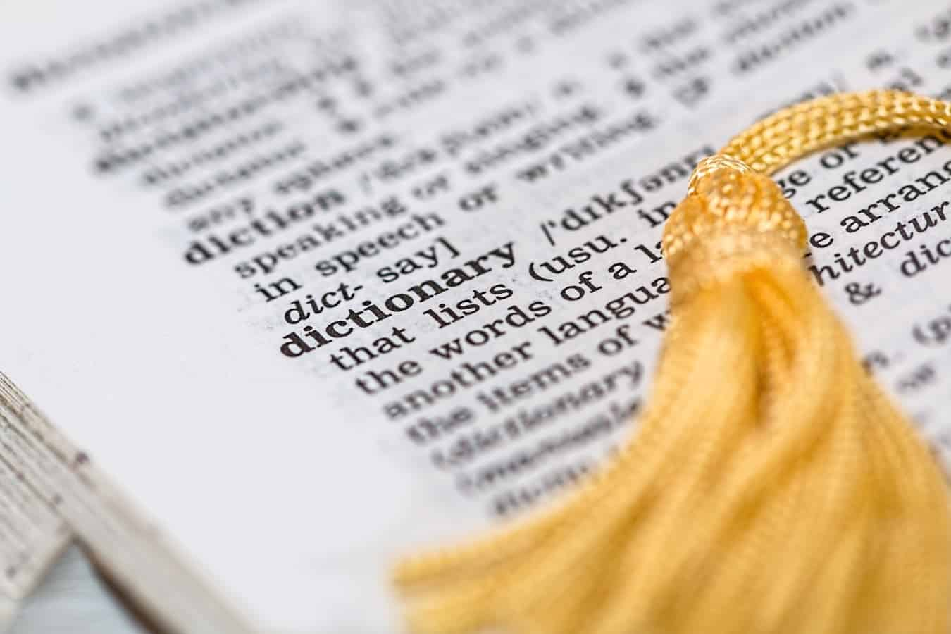 Por que devo usar o dicionário de inglês?